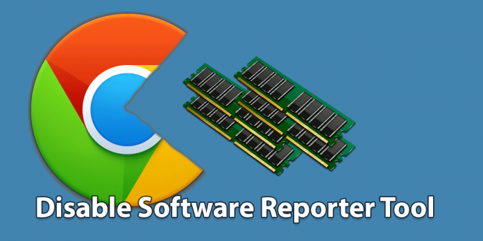 disable software reporter tool