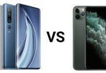 Mi 10 Pro Vs iPhone 11 Pro Max