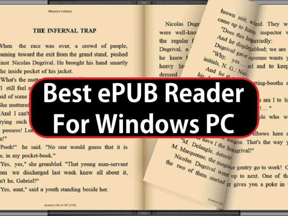 10 Best Epub Reader For Windows 10 8 7 Pcs