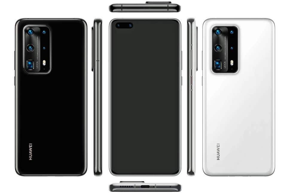 Huawei P40+ Pro 5G Design
