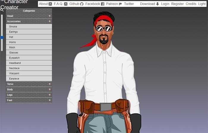 Character Avatar Creator