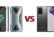 Xiaomi Black Shark 3 Pro Vs Samsung Galaxy S20 Ultra