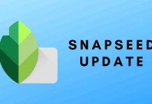 Snapseed Update