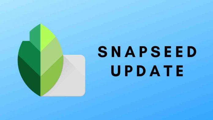 Snapseed Update