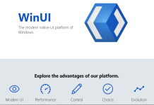 winui website