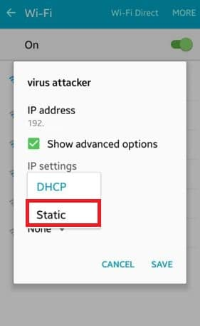 dhcp-to-static-IP