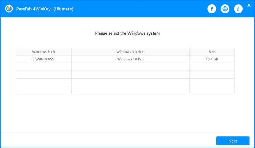 select windows