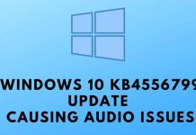 Windows 10 KB4556799 Update