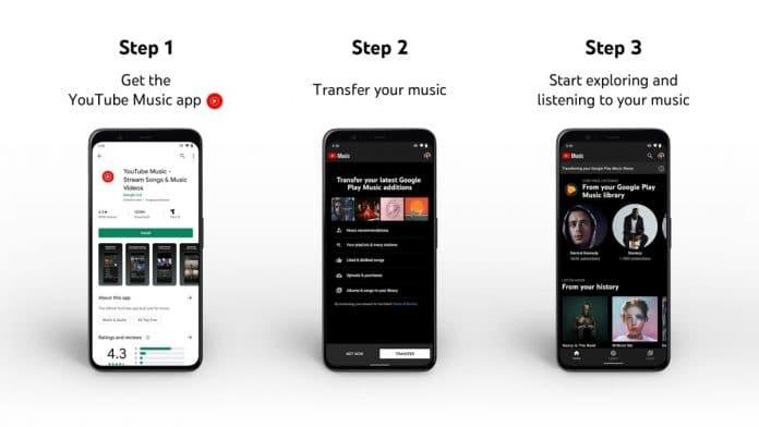 youtube music transfer