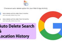 google delete history