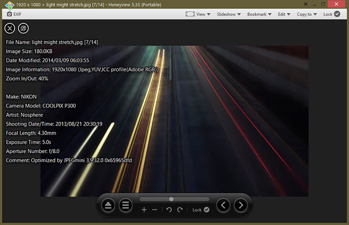 Honeyview Photo Viewer Windows 10
