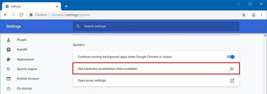 disable-hardware-acceleration-chrome