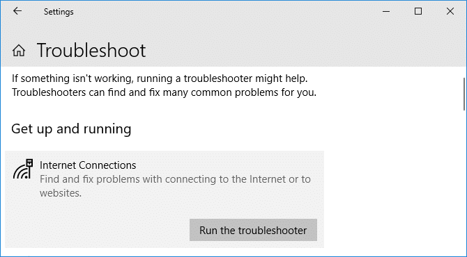network-troubleshoot