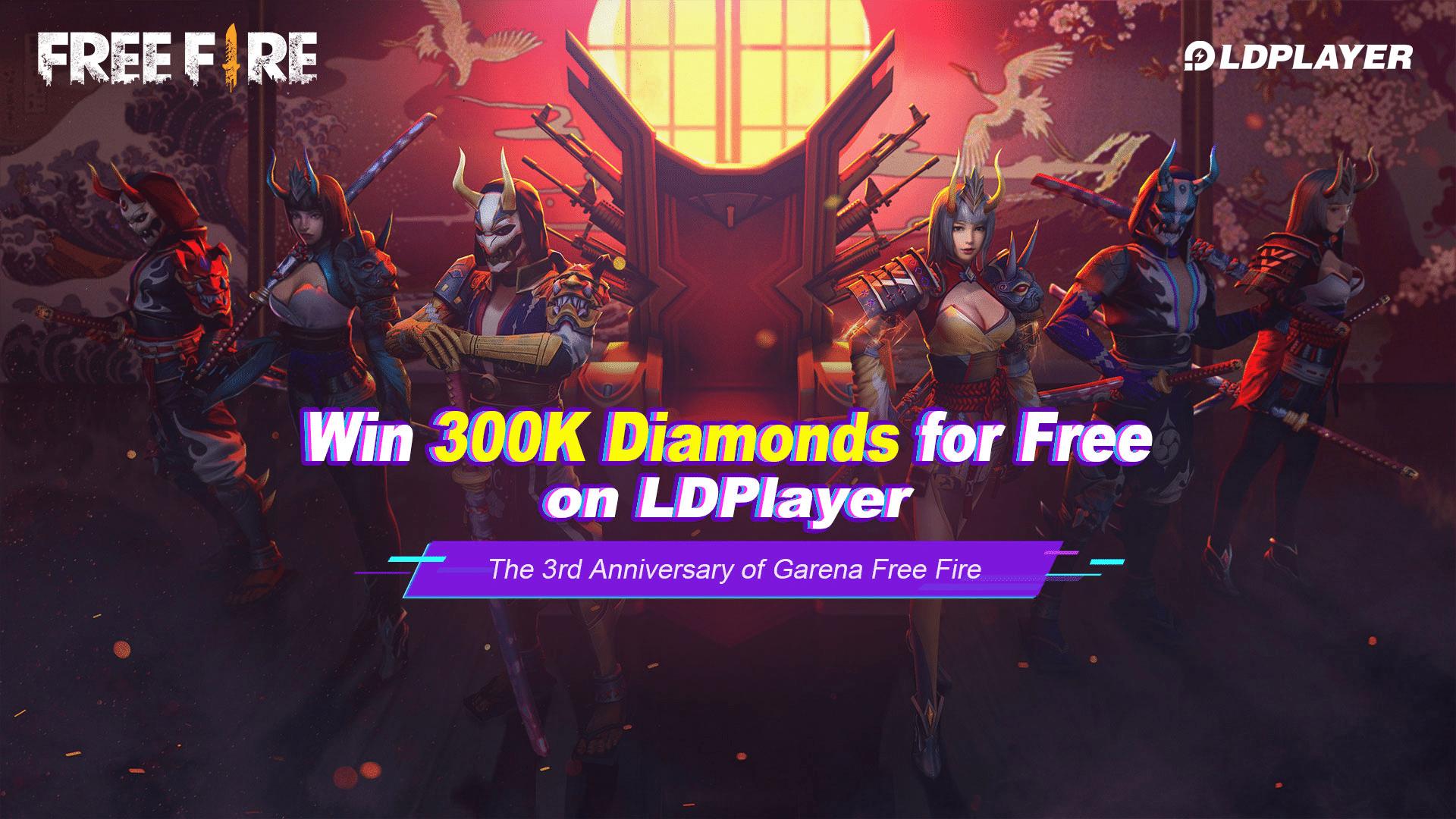 free fire ldplayer event