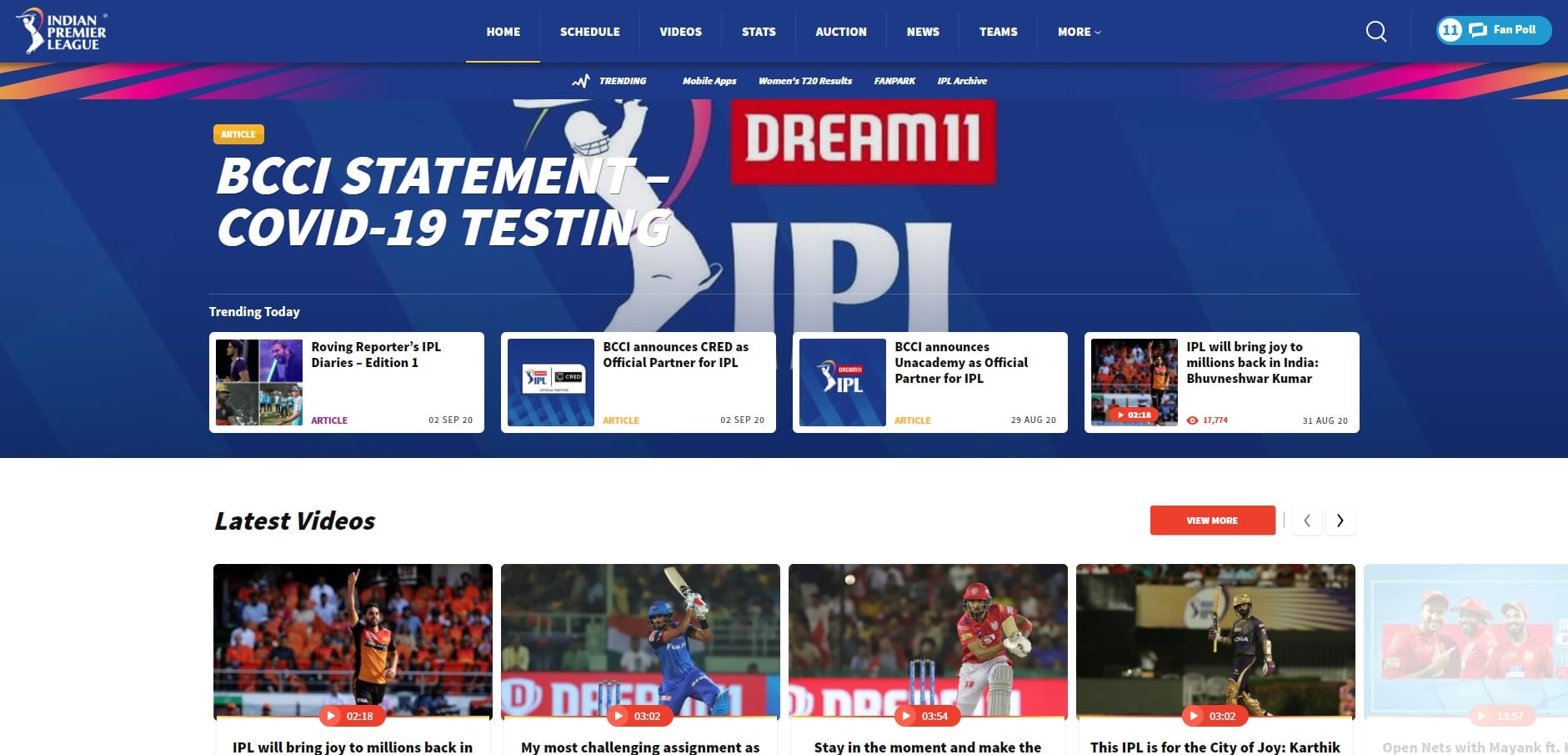 Ipl 2020 Live Streaming Websites Watch Online