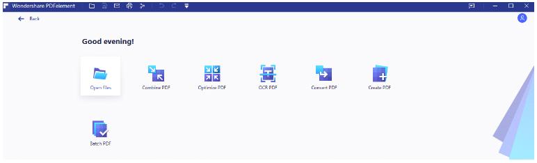 pdf element dashboard