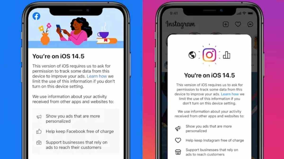 Facebook and Instagram Is Notifying Users That Enabling Tracking Keeps Apps 'Free Of Charge'