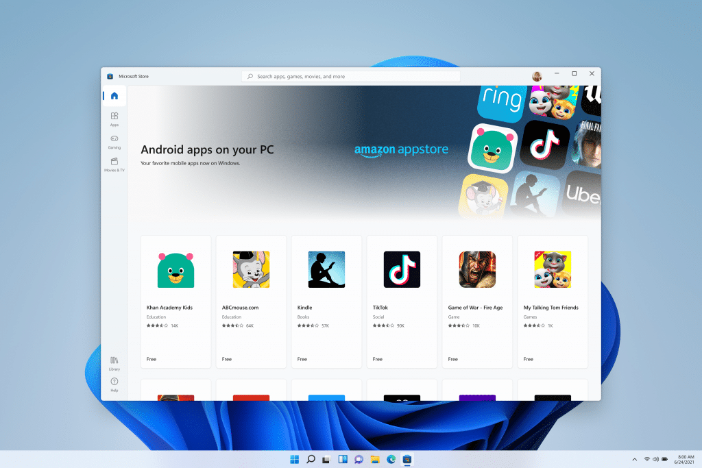 android app on pc