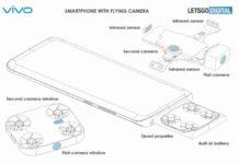 vivo smartphone flying camera