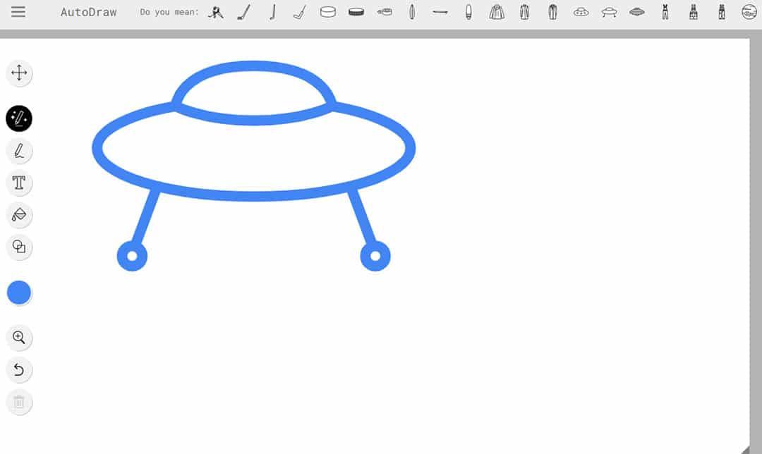 AutoDraw online drawing app