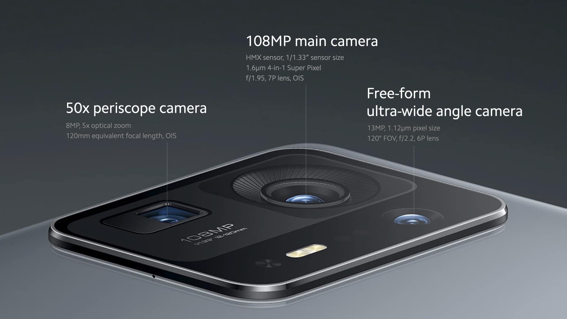 mix 4 back camera