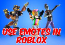 Emotes In Roblox