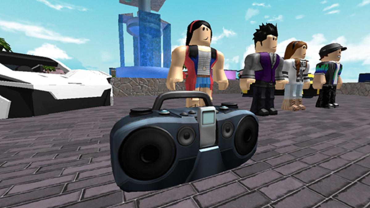 Roblox-Boombox